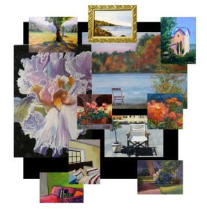 Paintings by the Waverly Artists Group, specially priced and sized for the holidays!